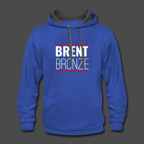BRENT BRONZE Design - Contrast Hoodie