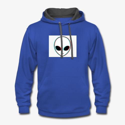 Alien - Contrast Hoodie