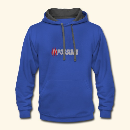 impossible - Contrast Hoodie