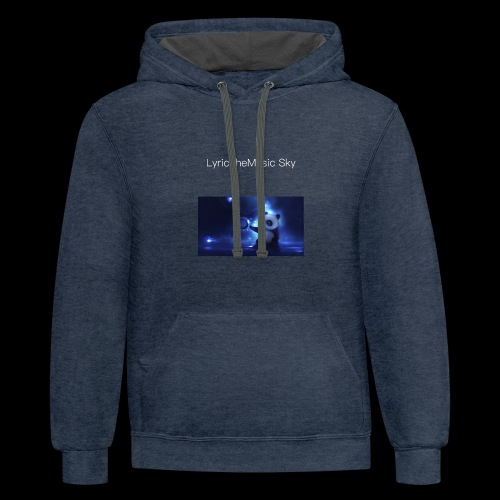 """LyricTheMusic Sky"" MERCH - Contrast Hoodie"
