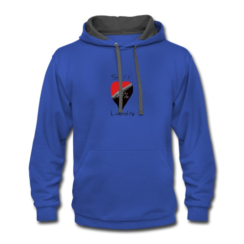 Heart on hold - Contrast Hoodie