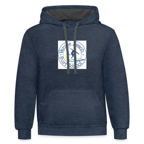 Venice Beach Surf T-Shirts Hats Hoodies - Contrast Hoodie