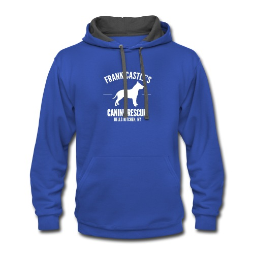 Frank Castle - Dog Rescue - Contrast Hoodie