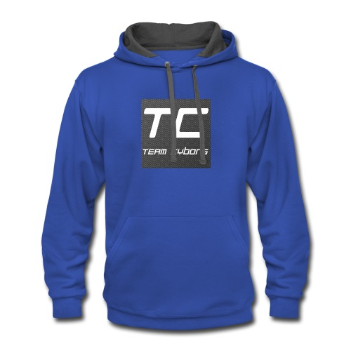 Team Cyborg Kids Merch - Contrast Hoodie