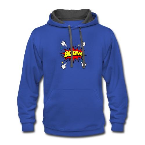 Super Boom - Contrast Hoodie