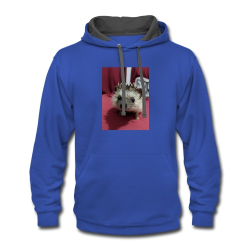 Love the animals - Contrast Hoodie