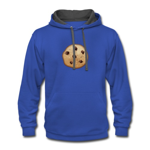 Chocolate Chip - Contrast Hoodie