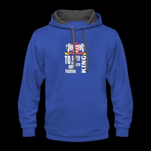 King design - Contrast Hoodie