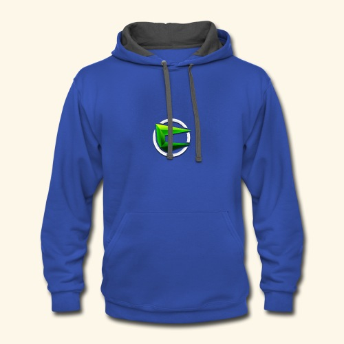 Team CoRe Official Logo - Contrast Hoodie