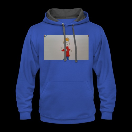 Noahgold full character - Contrast Hoodie