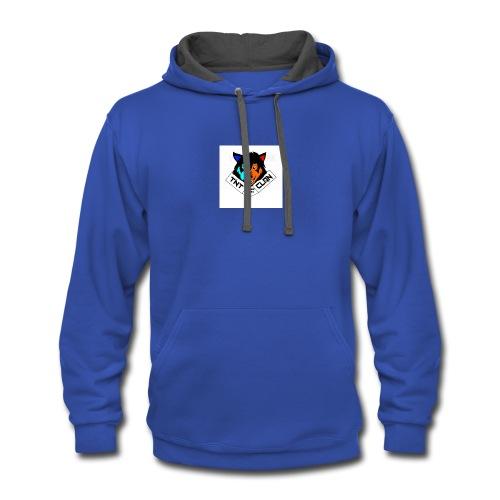 tnt logo 6 - Contrast Hoodie