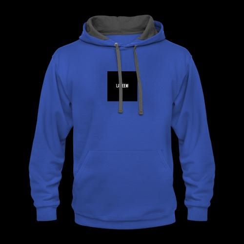 Lakeem T-shirt - Contrast Hoodie