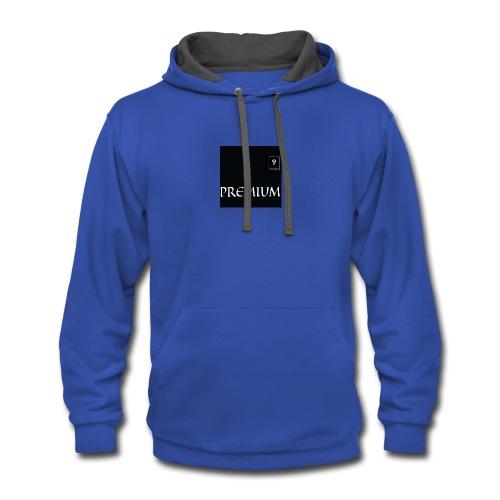 Premium apparel - Contrast Hoodie