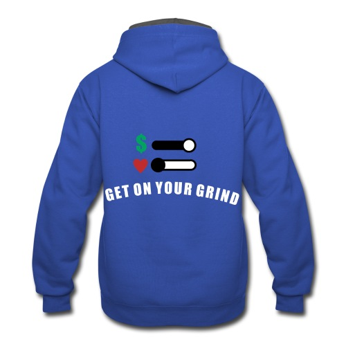 GET ON YOUR GRING - Contrast Hoodie