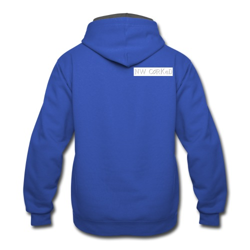 NW Corked 0001 - Contrast Hoodie