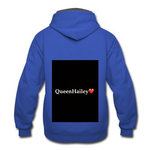 QueenHailey - Contrast Hoodie