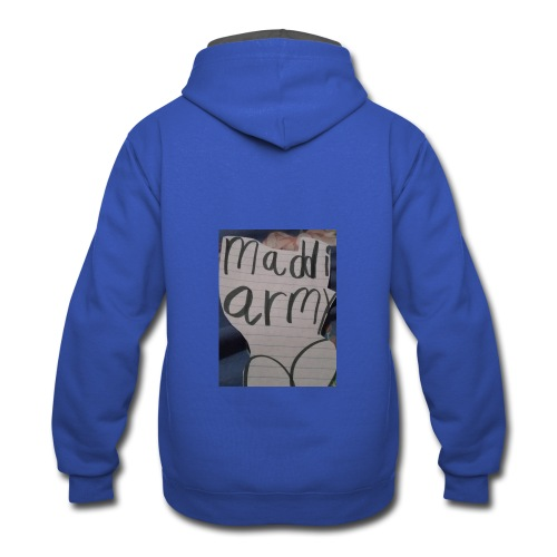 Madison - Contrast Hoodie