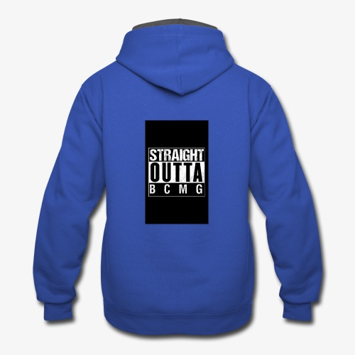 Straight outta BCMG - Contrast Hoodie