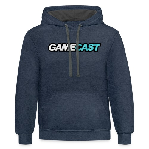 GameCast Official Line - Contrast Hoodie
