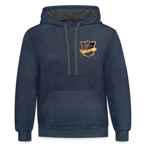 Premium - Contrast Hoodie