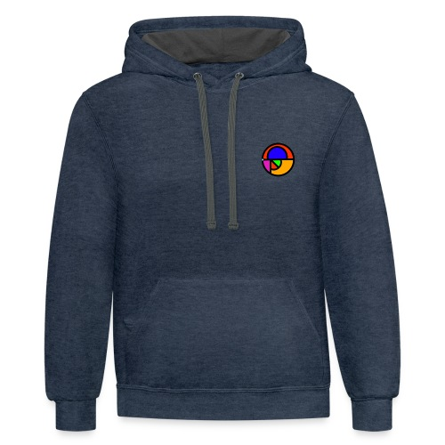 Shattered Logo T-Shirt - Contrast Hoodie