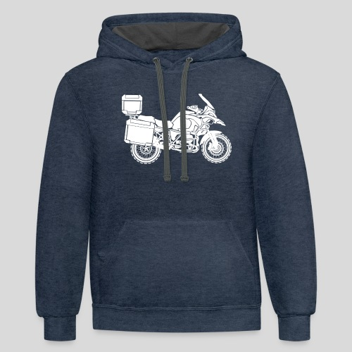 ADVENTURE MOTO - Contrast Hoodie