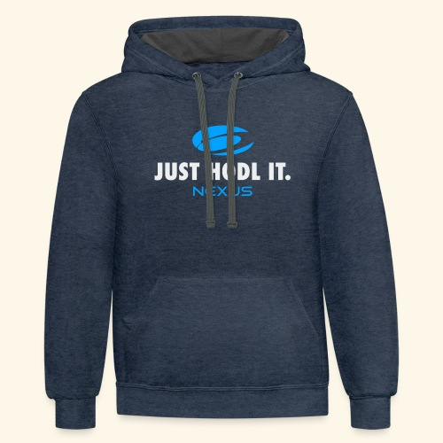 NXS Just Hold It - Contrast Hoodie