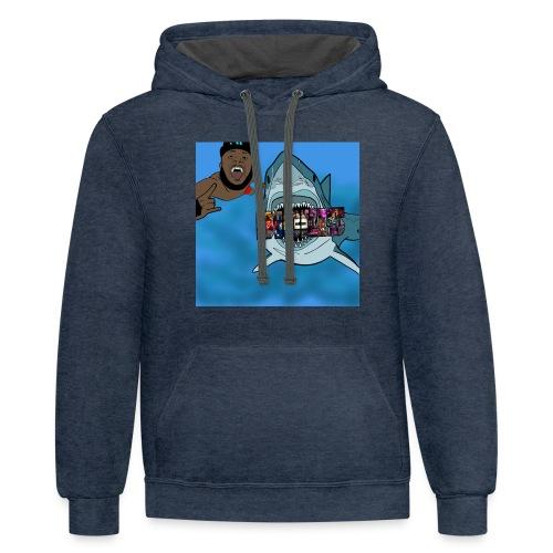 JLGreatDibkis - Contrast Hoodie
