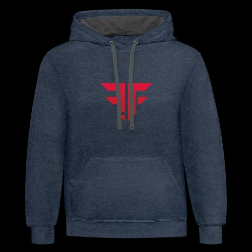 Fearless Foster Logo - Contrast Hoodie