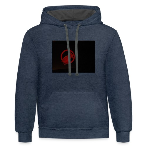 Catching fire - Contrast Hoodie