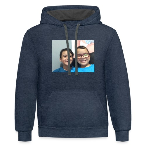 Wilson and jake's merch - Contrast Hoodie