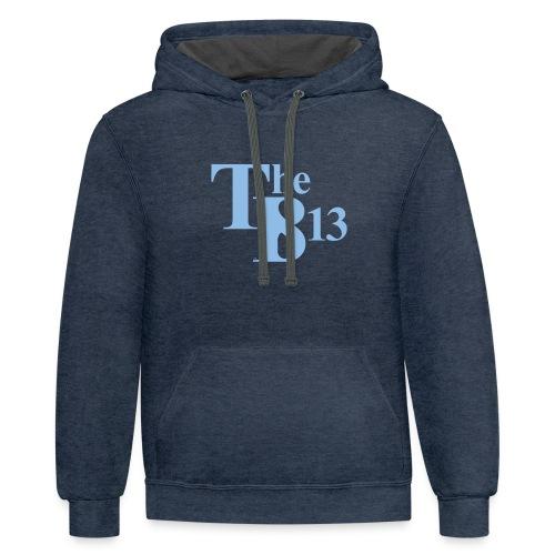 TBisthe813 Columbia Blue - Contrast Hoodie