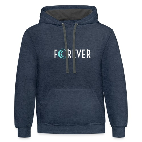 Forever - Contrast Hoodie