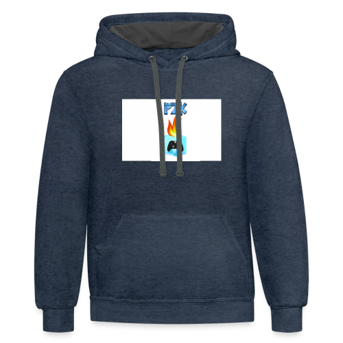 Edited Gaming Controlling Logo (Non-Offical) (GW) - Contrast Hoodie