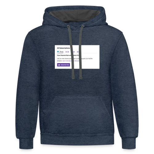 twitch prime - Contrast Hoodie