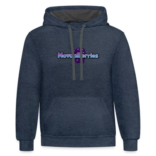 Novaaberries Clothing - Contrast Hoodie