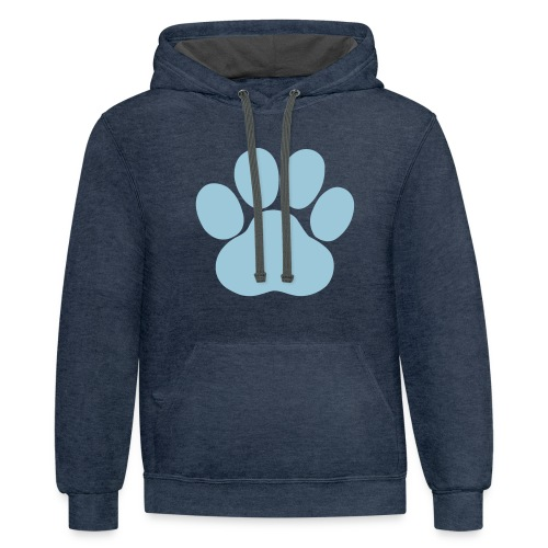 pawsitive - Contrast Hoodie