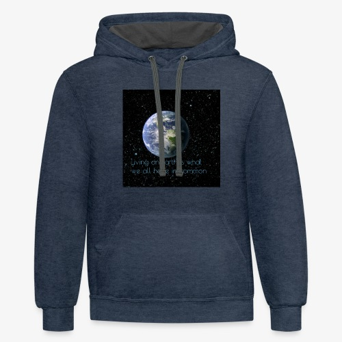 The Great Earth - Contrast Hoodie