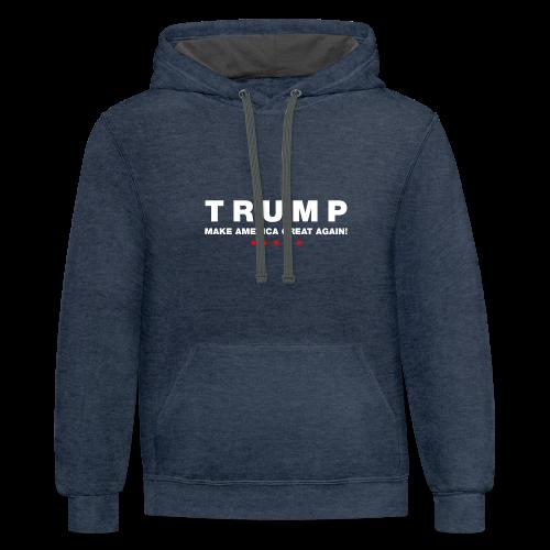 Official Trump 2016 - Contrast Hoodie