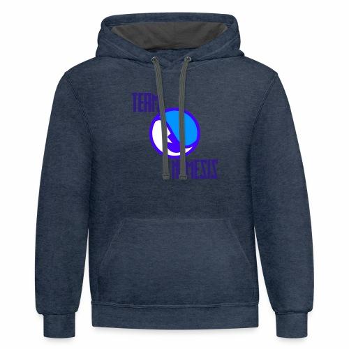 Team Nemesis Logo - Contrast Hoodie