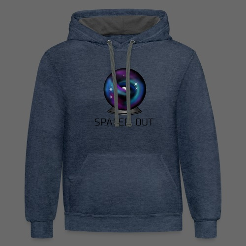 Spaced out - Contrast Hoodie