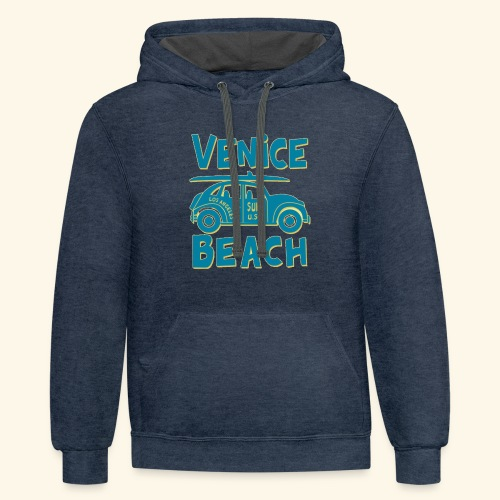 venice beach - Contrast Hoodie
