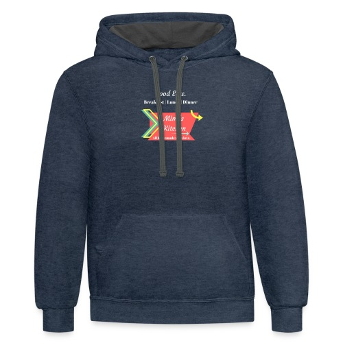 Mimi's Kitchen! Homemade with Love. - Contrast Hoodie