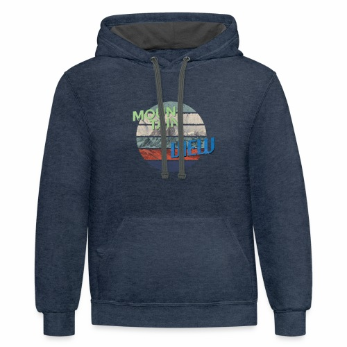 Mountain View - Contrast Hoodie