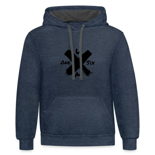 Emblazon'd Logo - Contrast Hoodie