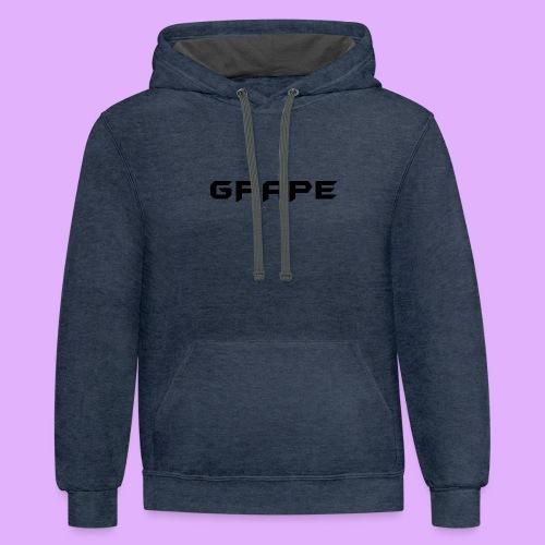 Grape - Contrast Hoodie