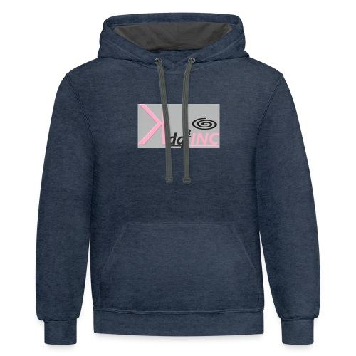 Pink Ink - Contrast Hoodie