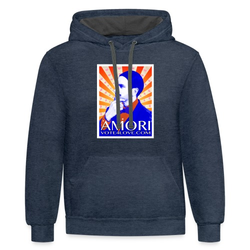 Amori_poster_1d - Contrast Hoodie