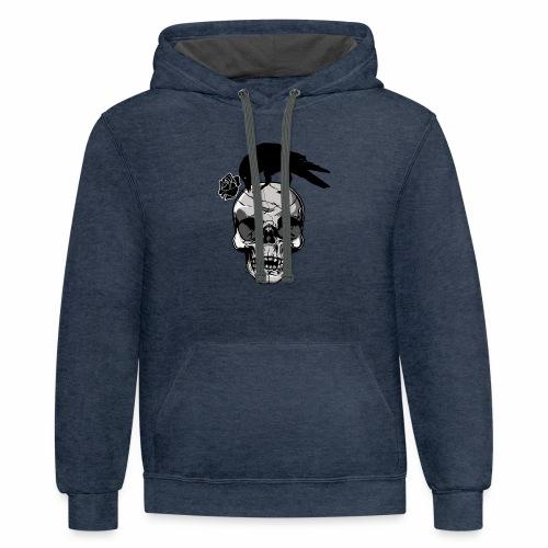 halloween tshirt - Contrast Hoodie