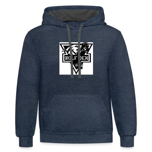 WOLF DEN - Contrast Hoodie